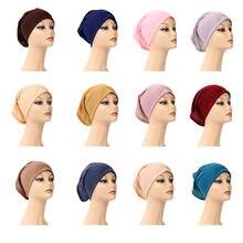 2020 Женские платки шарф хиджаб шапочка для химиотерапии ночной
