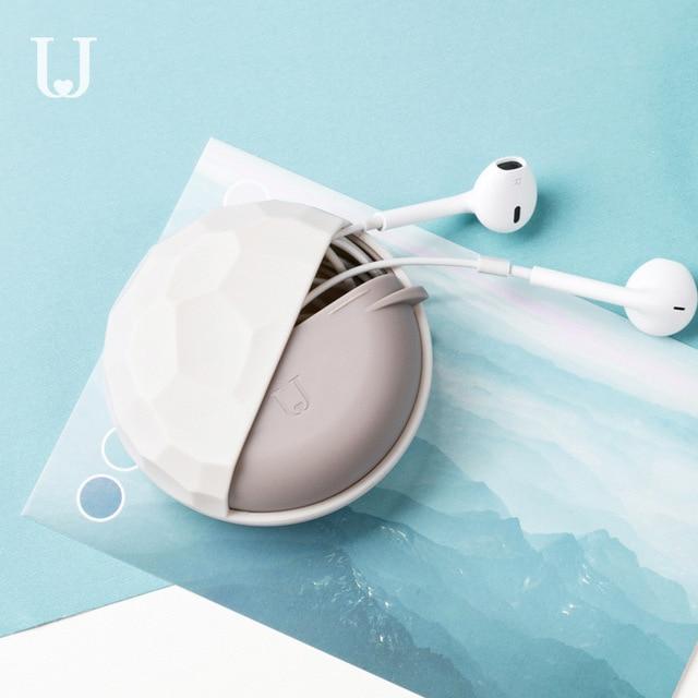 1pc Youpin Jordan & Judy multifonctionnel Portable boîte de rangement pour ligne de données casque cordon anneau Bracelet lecteur boîte de rangement