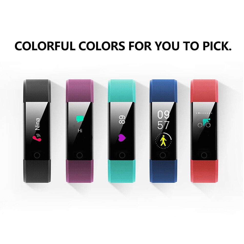 Hc71d720b3b3c4dcfb4aaa2f978becf7fK VIKEFON Smart Bracelet id115 plus Color Screen Sport Pedometer Watch Smartband Fitness Traker Bluetooth Waterproof Smart Band