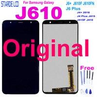 Pantalla táctil LCD Original de 6 0 pulgadas para Samsung Galaxy J6 Prime J6 Plus 2018 J610 J6 + J610F J610FN