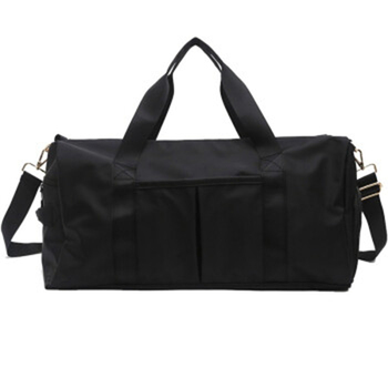 Outdoor Waterproof Nylon Sports Gym Bags Men Women Training Fitness Travel Handbag Yoga Mat Sport Bag with shoes Compartment 2