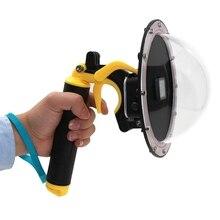 Полностью Спортивная камера для дайвинга, водонепроницаемая маска для камеры, крышка для объектива для воды, водонепроницаемый чехол для камеры для дайвинга, чехол для Gopro Hero5 Hero6