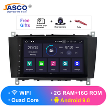 все цены на Android 9.0 Car DVD Stereo Multimedia Headunit For Benz R171 W171 Benz SLK Auto PC Radio GPS Navigation Video Audio 4G RAM онлайн