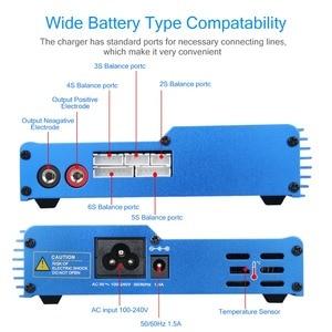 Image 3 - Prise ue/US iMAX B6AC 80W Balance chargeur Lion LiPo vie Pb NiCd et NiMH batterie déchargeur adaptateur secteur pour hélicoptère RC