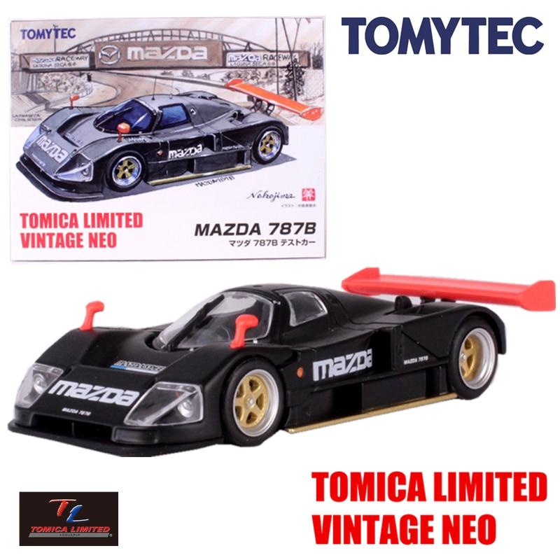 Tomytec tomica limited винтажный neo mazda 787b модельный комплект 1/64 миниатюрная литая машина игрушка