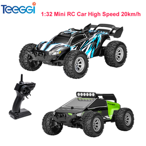 1:32 4CH 2WD 2.4GHz Mini RC Car High Speed 20km/h Toy Vehicle Off-Road Racing Truck Toy Remote Control Climbing Cars Toys Kids