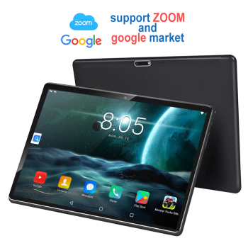 New Tablet Pc 10.1 inch Android 8.0 Tablets Octa Core Google Play 3G 4G LTE Phone Call GPS WiFi Bluetooth Tempered Glass 10 inch kuhengao new octa core 10 inch tablet pc 4g lte fdd with phone call android tablet 32 64gb 1920 1200 ips wifi bluetooth 10 10 1