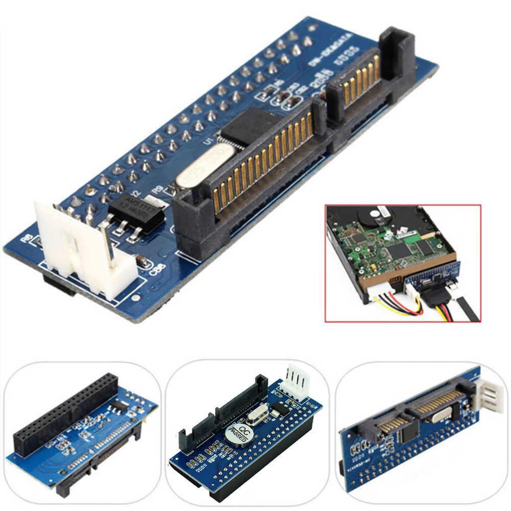 OULLX SATA IDE アダプタ 40 ピン IDE に SATA コネクタ 3.5 HDD IDE/PATA ハードディスクアダプタコンバータ 7Pin-SATA データケーブル