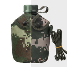 ENERGE SPRING Troops Distribution of Genuine Bottles New Camouflage Outdoor Sport Bottle with bag metal water bottle