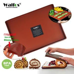 WALFOS Cake-Pad Baking-Mat Bakeware Oven-Liner Non-Stick Silicone Swiss Food-Grade DIY
