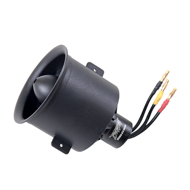 FMS 70mm Pro 12 Blades Ducted Fan EDF With 3060 6S 1900KV Brushless Motor for RC Airplane Ducted Fan Plane image