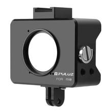 PULUZ Lens Cap Housing Aluminum Alloy Protective Cage Case + 37mm UV Lens for Sony RX0