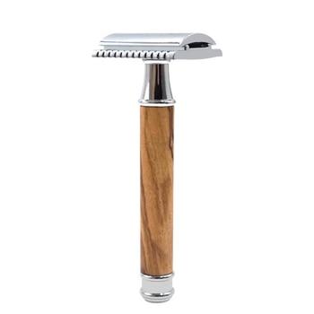 цена на Safety Double-Edged Men's Razor Straight Razor Straight Razor Men's razor blade Machine For Shaving Knife