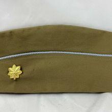 Garrison-Cap MAJOR Military-Hat Us Army SOLDIER KHAKI WW2 MEN 5605101 Reenactments-Equipment