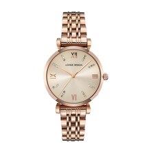 Ladies quartz watch 24K gold watch banquet watch designer brand stylish accessories beautiful watch woman's gift