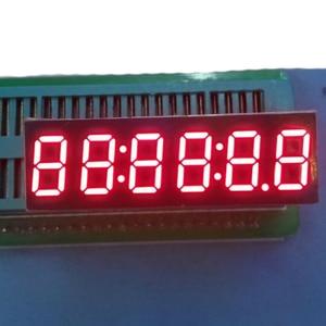 Image 1 - 2pcs LED Timer Display 6 Digits Digital Clock Display RED Cathode 7 Segment LED Display 0.36inch Timer Numbers LED Signs Display