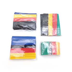 Image 5 - 328 Stks/set Hoezen Wrap Wire Auto Elektrische Kabel Buis Kits Krimpkous Tubing Polyolefine 8 Maten Gemengde Kleur Термоусадка