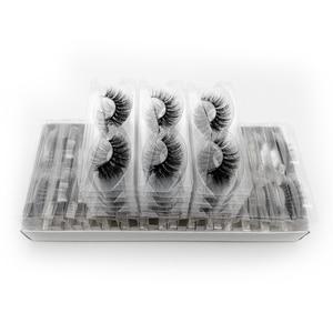 Image 5 - ขายส่งราคาขนตาปลอม 3D Mink Lashes ที่กำหนดเองกล่อง NATURAL Mink Eyelashes fluffy ขนตาปลอมแต่งหน้าขนตาปลอมจำนวนมาก