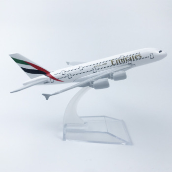 Emirates Airlines A380 Airplane Diecast Aircraft Model 6 Metal Plane Aeroplane Home Office Decor Mini Moto Toys for Children 16cm 787 a380 747 777 airlines metal alloy model plane aircraft toy wheels airplane birthday gift collection desk toy