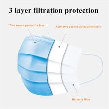 Anti-Pollution 3 Layer N95 Surgical Mask KF94 Face Mask Mascherine Anti Virus FFP3 KN95 Mouth Filter Anti Virus Disposable Mask