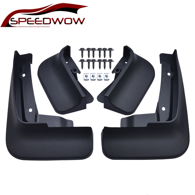 SPEEDWOW Mudflaps Splash Guards Front Rear Mud Flap Mudguards For Volkswagen <font><b>VW</b></font> Transporter <font><b>T5</b></font> T6 Caravelle <font><b>Multivan</b></font> 2004-2019 image