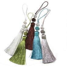 1Pc Tassel Fringe Sewing Hanging Rope Tassel Trim Clothes Decoration Key Tassels for DIY Embellish Curtain Accessories