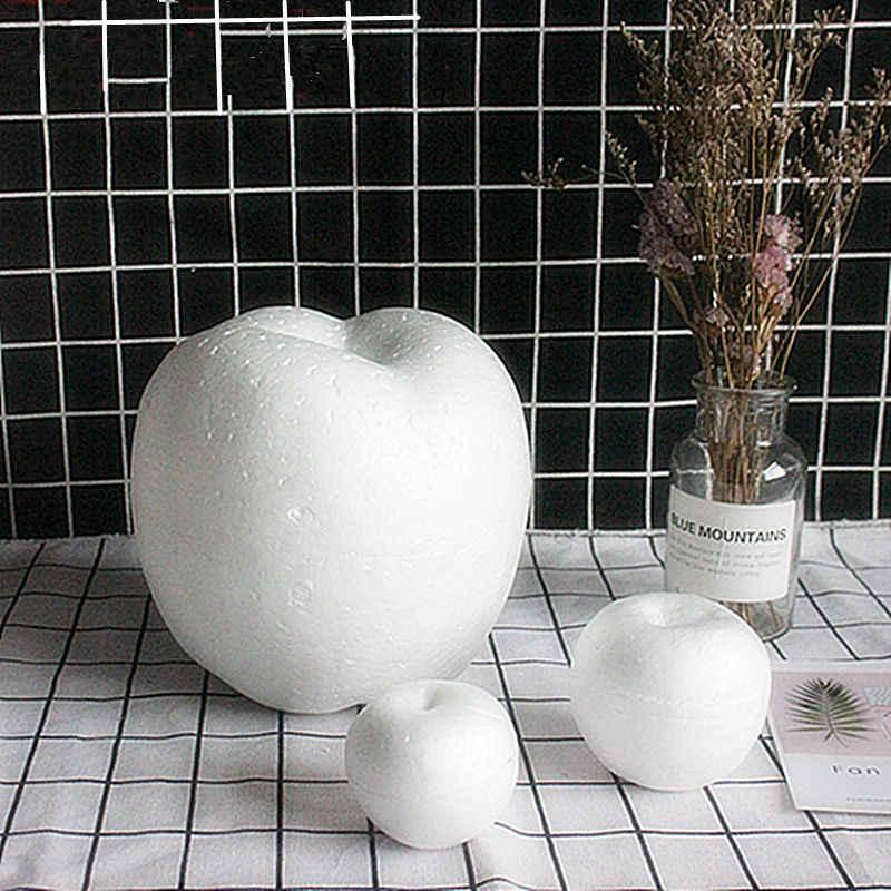 13 สไตล์การสร้างแบบจำลอง Polystyrene โฟมโฟมหมีสีขาวหัตถกรรมลูกบอล PE Rose สำหรับ DIY ปาร์ตี้คริสต์มาสอุปกรณ์ตกแต่งของขวัญ