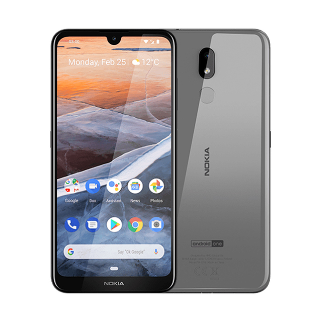 Nokia 3.2 LTE Android 6.26″ HD+ Qualcomm Snapdragon 429 3GB 32GB  4000mAh Smartphone Global Version