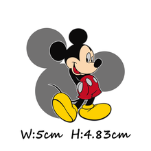 1Pcs Minnie Cartoon Mickey Minnie Character DIY Iron On Clothing T-Shirt Sticker Pants Patch Printing Applique Thermal Transfer(China)