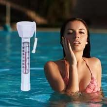 Портативный плавающий термометр для бассейна воды бассейнов