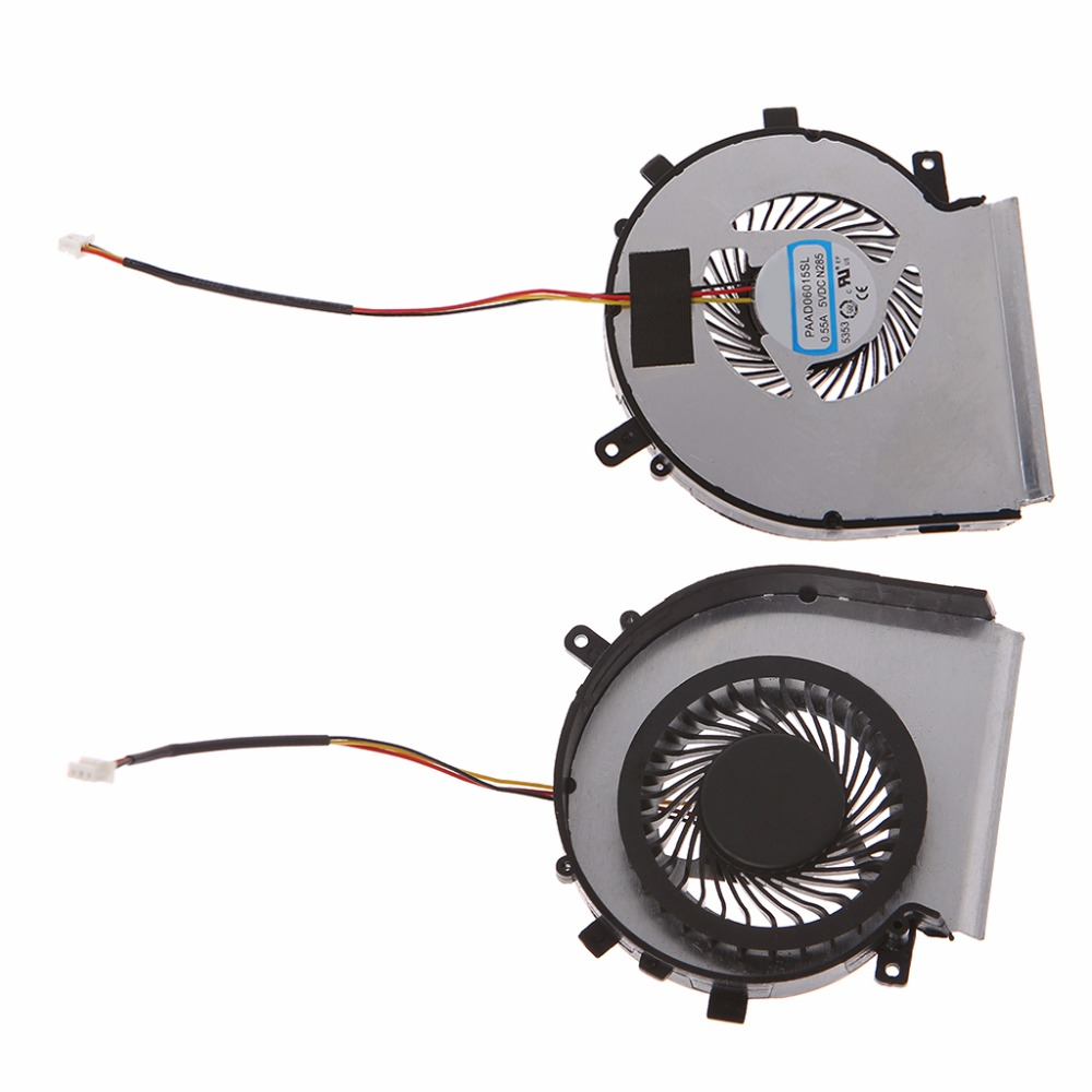 Laptop Cooler CPU Cooling Fan Replacement For MSI GE62 GE72 GL62 GL72 PE60 PE70 Laptop Accessories