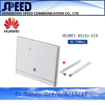 HUAWEI B315s-519 CPE 150Mbps 4G LTE FDD WIFI ROUTER Applicable  USA, Canada and Chile 1