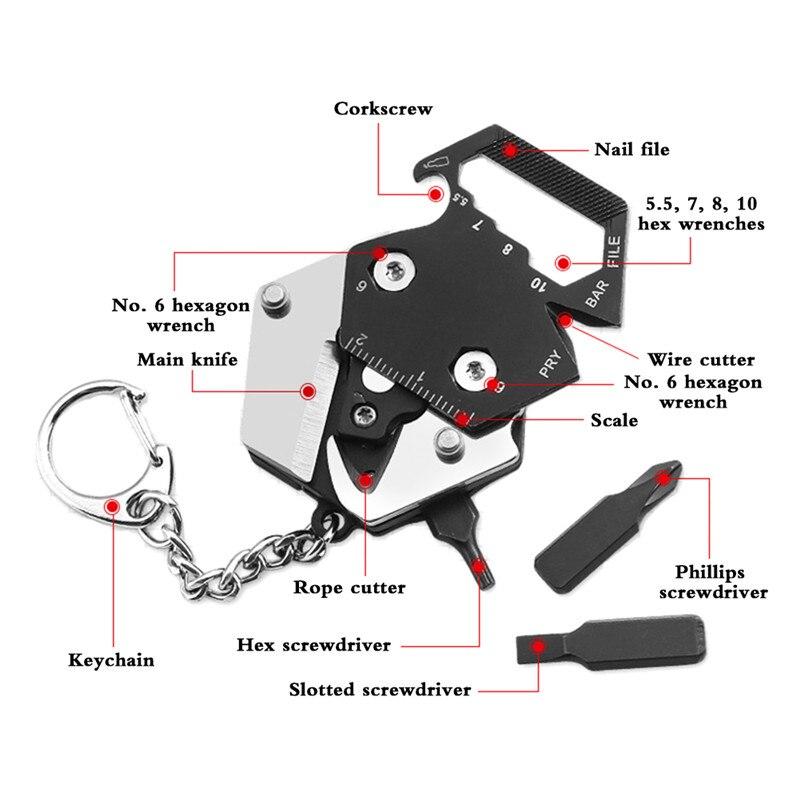 Muddy Hunting Pocket Folding Knife Multitool 4