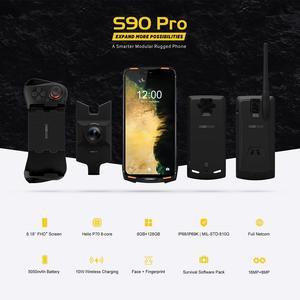 Image 2 - DOOGEE S90 برو IP68/IP69K هاتف محمول وعر الروبوت 9.0 الهاتف الذكي 6.18 FHD + عرض هيليو P70 الثماني النواة 6GB 128GB 16MP كاميرا