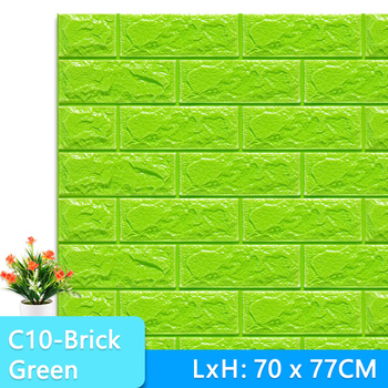 3D Wall Stickers Marble Brick Peel and Self-Adhesive Wall paper Waterproof DIY Kitchen Bathroom Home Wall Decal Sticker Vinyl 13