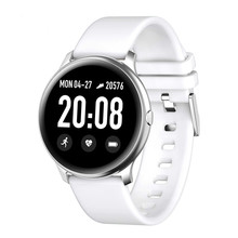 EHP Factory Sale Kw19 Smart Watch 1.3 Inch Screen Heart Rate Blood Pressure Waterproof For Ios And Android Smartwatch With App цена и фото