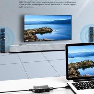 Image 5 - HDMI כבל מאריך HDMI תואם רשת אחת כבל 60 מטרים ללא עיכוב שידור 1080P HD HDMI תואם כדי Rj45