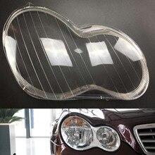 Для Mercedes-Benz W203 C180 C200 C230 C260 C280 2001~ 2005 2006 2007 2008 Автомобильные фары прозрачные линзы Авто оболочка Крышка