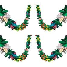Гирлянда из цветных тканей для Гавайского фестиваля, 3 м