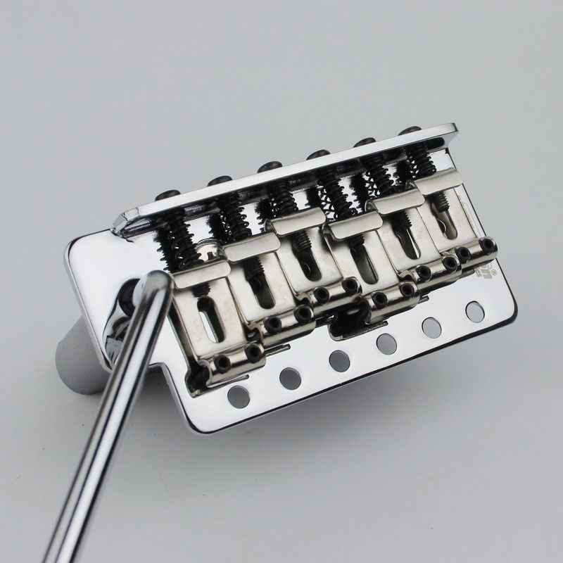 Wilkinson WOV01 Vintage Type ST Electric Guitar Tremolo System Bridge Chrome Silver for Strat Guitar