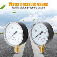 Digital Air Gauge Air Compressor Hydraulic Fluid Oil Water Pressure Gauge