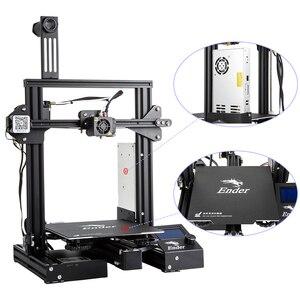 Image 5 - CREALITY 3Dเครื่องพิมพ์Ender 3 PROเครื่องพิมพ์ชุดพิมพ์หน้ากากยี่ห้อMWแก้วตัวเลือก3D Drucker Impresoraเครื่องพิมพ์ชุด