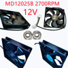 For Lenovo 7000P/9000 Chassis Fan Water Cooling Exhaust Fan AVC DAZE1225B2UP038 2U ARGB.4P Speed Regulation Oversized Air Volume