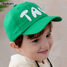 Hepburn Brand 2019 NEW Warm Cotton Child Baseball Cap letter Cute toddler Kids Baby Boy Girl Hat For 2-7 years old Baby 2018 new cool photography fedora cotton hats 2 6 years best gift to children child jazz hat jazz toddler kids baby boy girl cap
