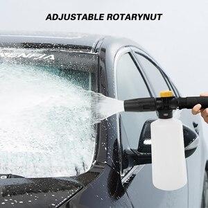 Image 5 - Araba köpük yıkama köpük püskürtücü köpük aparatı köpük topu köpük jeneratörü Daewoo çekiç Karcher Huter Makita yüksek basınçlı yıkayıcı