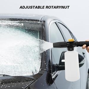 Image 5 - Car foam wash Snow foam lance foam nozzle foam cannon foam generator for Daewoo Hammer Karcher Huter Makita High Pressure Washer