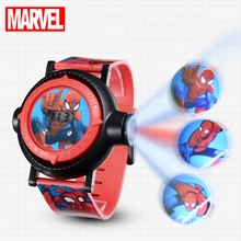 Spiderman Kids Watches Projection Cartoon Pattern Digital Child watch For Boys Girls LED Display Clock Relogio MARVEL Hero Time