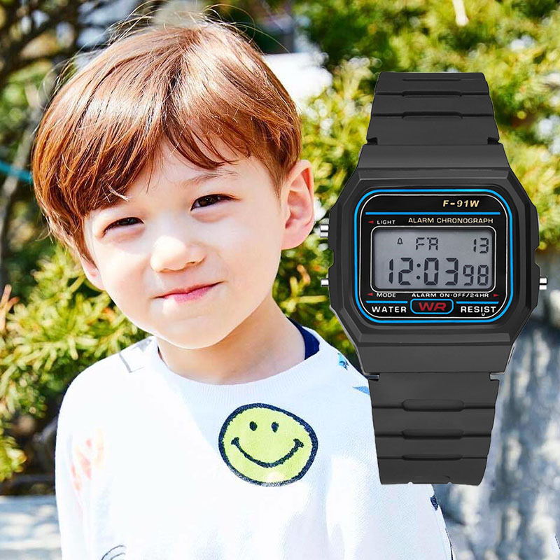 Kids Watches Boys Digital Children Watch Waterproof Girls LED Sport Clock Relogio Infantil Digital Relogio Infantil Prova Dagua