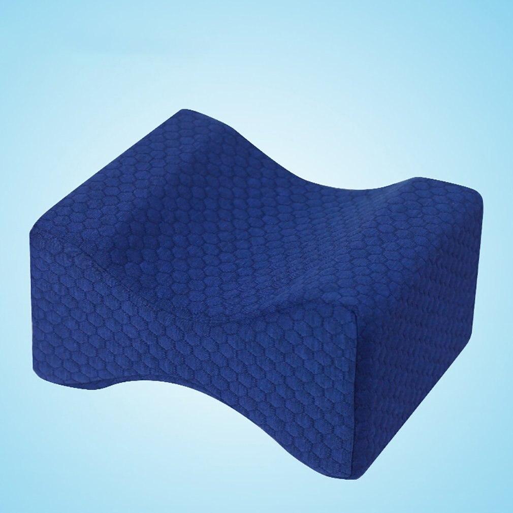 Memory Foam Mat Pillows Sleeping Bolster Under Knee Pillow Orthopedic Posture Supporter Leg Cushion Sciatica Pain Relief Brace