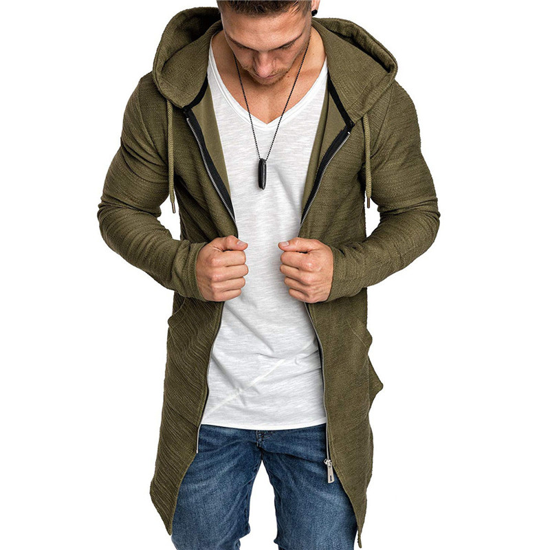 Solid Color Bomber Jackets Men Spring Autumn Outerwear Men Windbreaker Jackets Men Casual Sports Jogging Coat Men Cardigan Tops